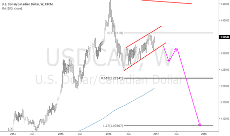 USDCAD: USDCAD: Flags are Zebra Lines Along the Price Highway