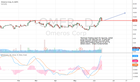 OMER: OMER low price potential technical trade