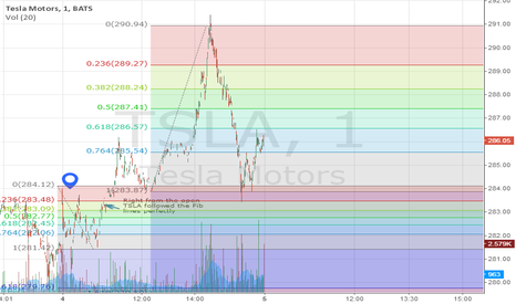 TSLA: TSLA Following the fibonacci lines