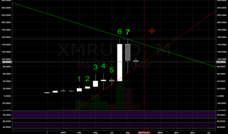 XMRUSD: MONTHLY: BUBBLE POP - MONERO & some ALTS