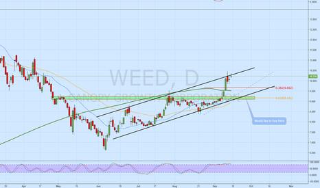 WEED: WEED forming nice upward channel