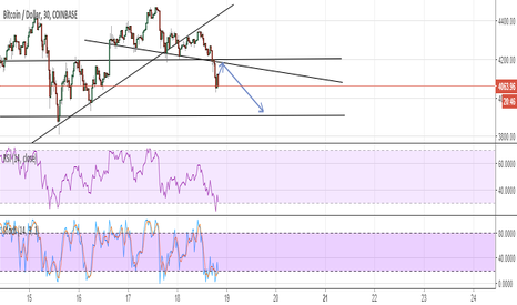 BTCUSD: BTC Breaks Through Floor