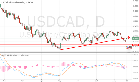 USDCAD: Bearish after retesting the broken trend line