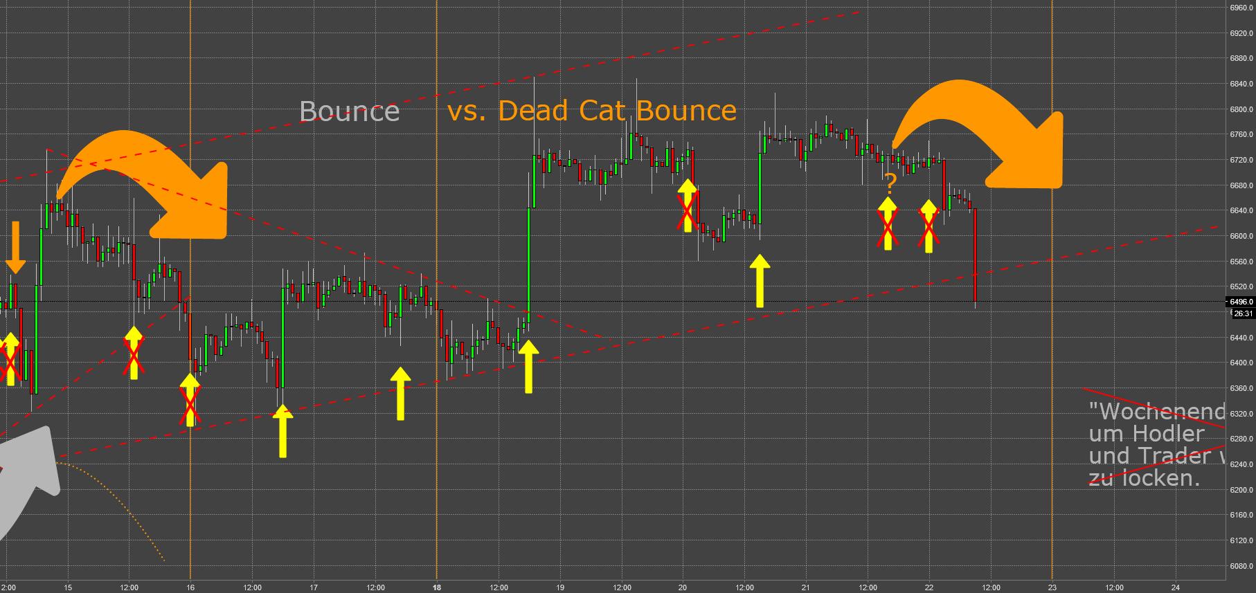 BTC: No Way Out (XIII) - Dead Cat Bounce an der 6k Marke V