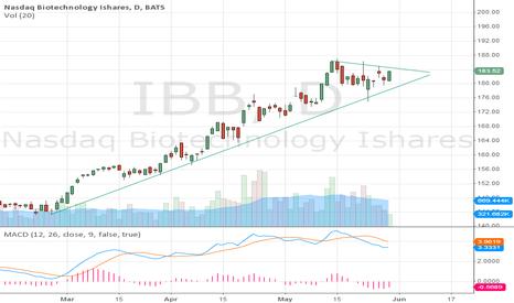 IBB: holding trendline.. flagging.