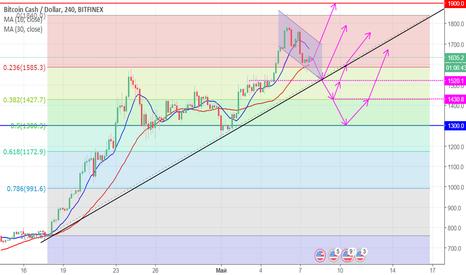 BCHUSD: Движение цены Bitcoin Cash в ближайшее время