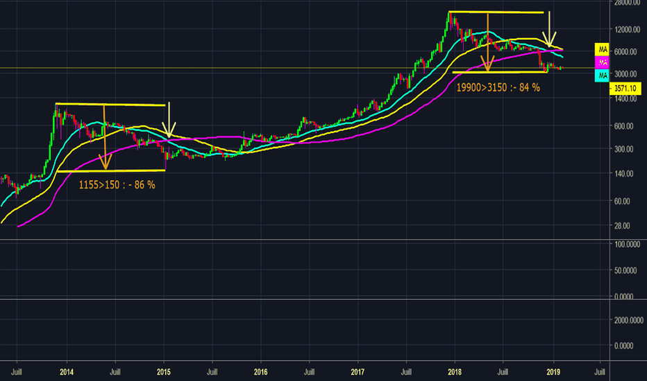 BTCUSD: fin du crash ?  Bottom or not Bottom ? 2eme partie