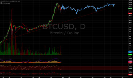 BTCUSD: What if the rate of deflation were much different than expected?