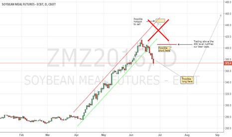 ZMZ2016: Soyabeanmeal CBoT: missed the short entry and now waiting