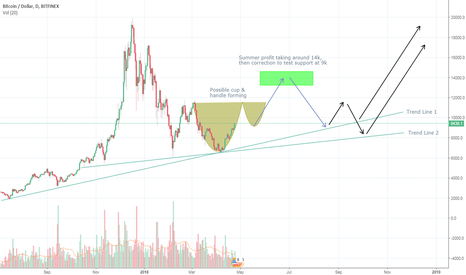 BTCUSD: BTC/USD - Probable Pathway Into The Summer, Fall, Etc.