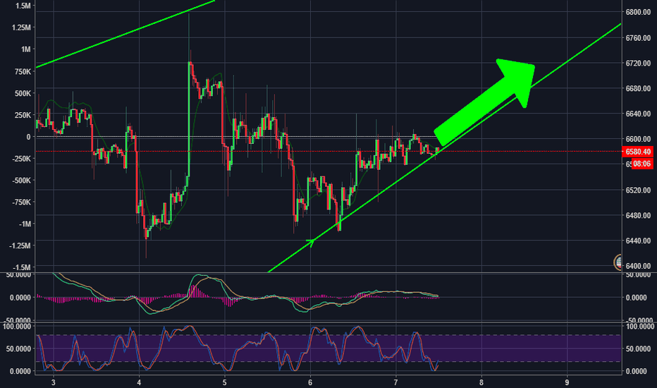 BTCUSD: Support Will Hold?