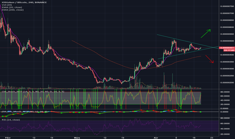 IOSTBTC: IOST : second mouvement ?