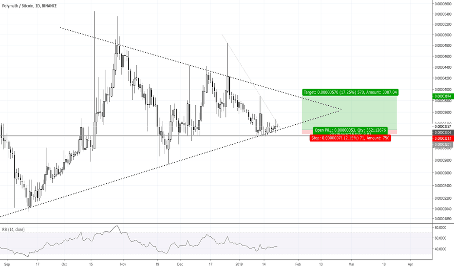 POLYBTC: Large Symmetric Triangle Forming
