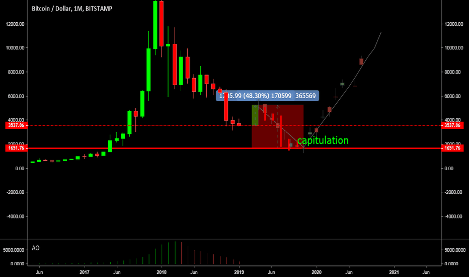 BTCUSD: Last Pump and then dump with Capitulation
