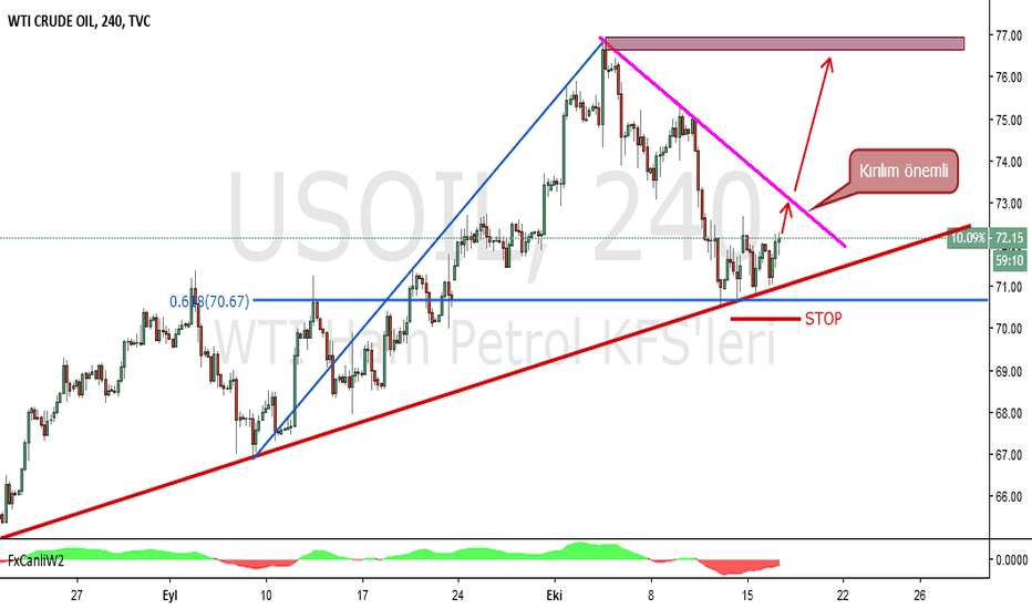 USOIL: WTI CRUDE OİL H4