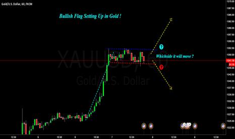 XAUUSD: XAUUSD : Gold simple flag bullish setup