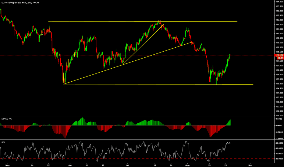 EURJPY: wait for top to sell again