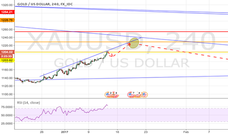 XAUUSD: small retracement expected in gold in Gold