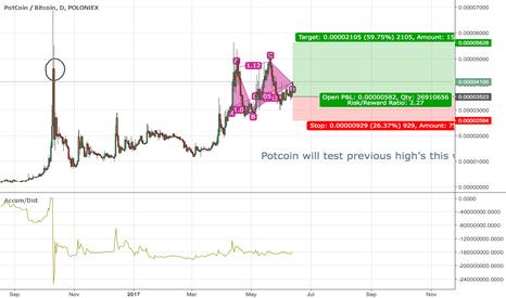 POTBTC: POT coin to the Moon