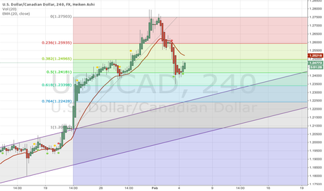 USDCAD: USDCAD ... will the bulls hold out?