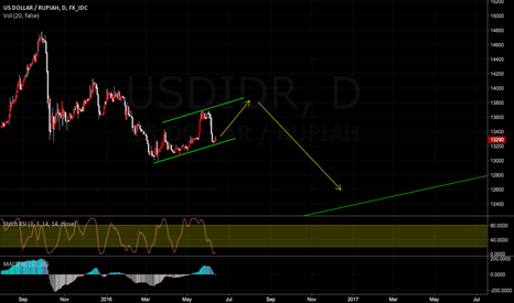 USDIDR: There is high Probability that Rupiah is going to do this.