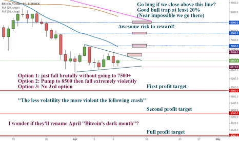 BTCUSD: Crypto spam box 4. The fall is going to be so brutal...