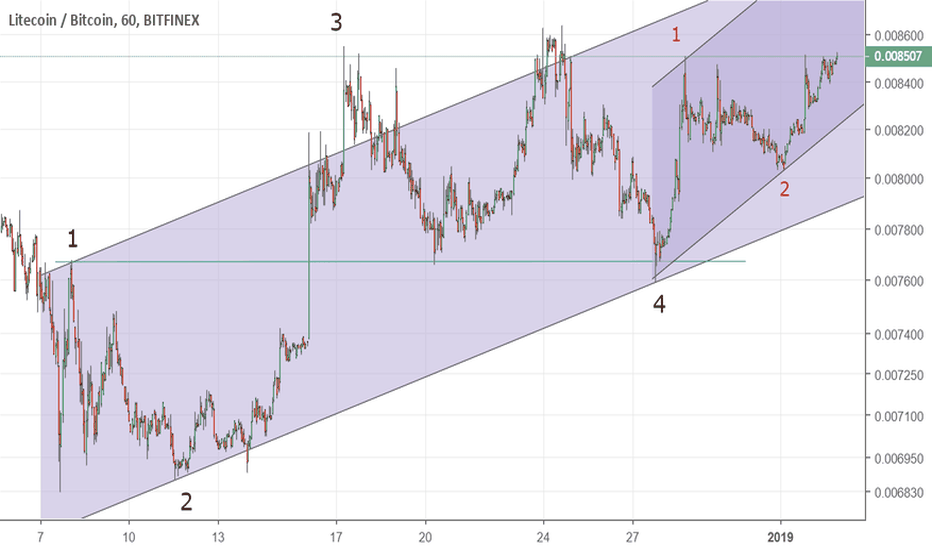 LTCBTC: Litecoin Extended 5th wave underway
