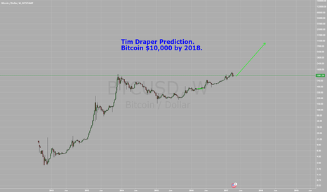 BTCUSD: Tim Draper $10,000 Bitcoin Prediction by 2018.