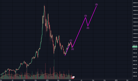 BTCUSD: Is Bitcoin going to moon? possible 20k top?