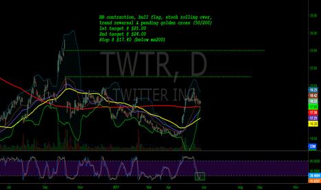 TWTR: TWTR bullish setup