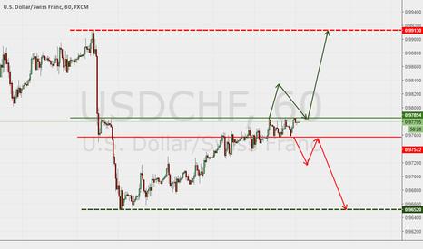 USDCHF: Long/short let the market decide