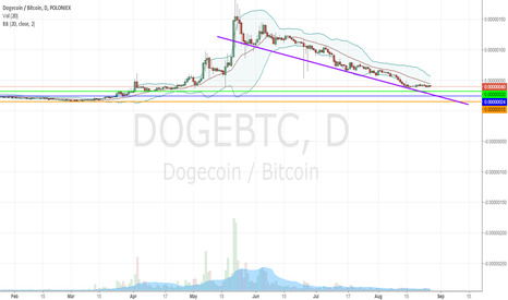 DOGEBTC: Example of Bid Levels for Position Trading on an Alt Coin