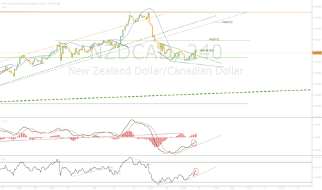 NZDCAD: Wainting Break