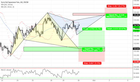 EURJPY: BRACKETING THE EUR/JPY