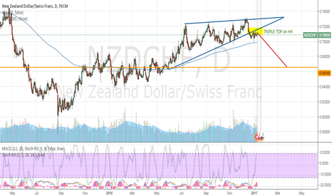 NZDCHF: I will go short on NZDCHF for this week