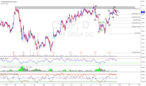 CSGP: $CSGP Nice Setup - EW Analysis and Bull Flag